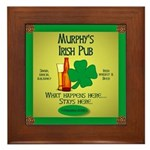 Murphy's Irish Pub Framed Tile