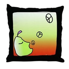 PEACE OF FRUIT Throw Pillow
