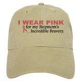 Pink For My Stepmom's Bravery 1 Baseball Cap