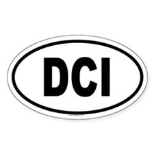 DCI Oval Decal