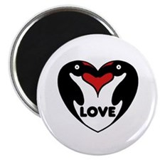 Penguin Love Magnet