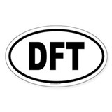 DFT Oval Decal