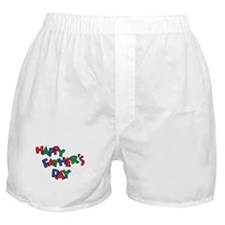 Happy Fathers Day Boxer Shorts