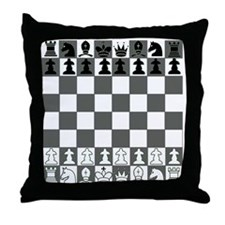 Chessboard Throw Pillow