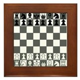 Chessboard Framed Tile