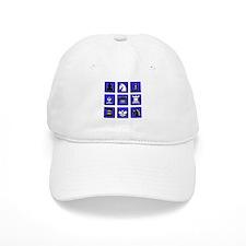 Chess Collage Baseball Cap