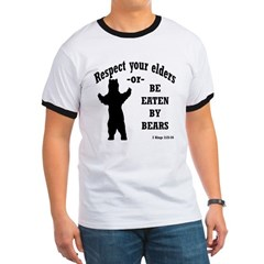 Respect Your Elders tshirt - bible verse