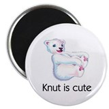 Knut is cute Magnet