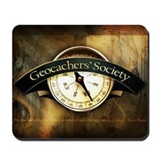 Geocachers' Society Mousepad