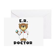 ER Doctor Greeting Card