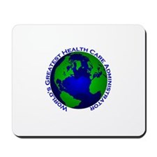 World's Greatest Health Care Mousepad