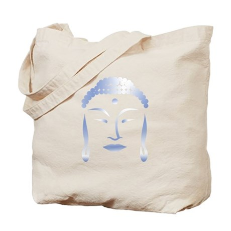 Buddha Head Tote Bag