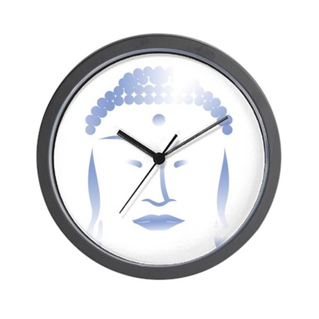 Buddha Head Wall Clock