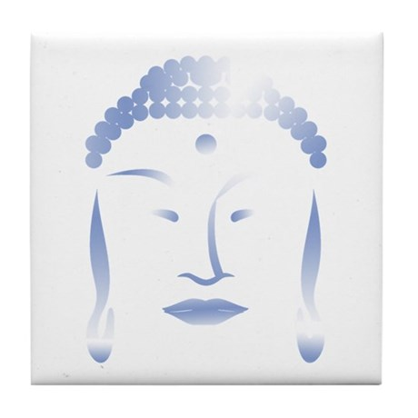 Buddha Head Tile Coaster