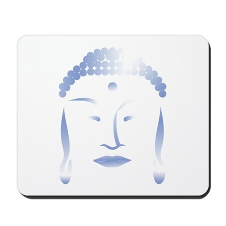 Buddha Head Mousepad