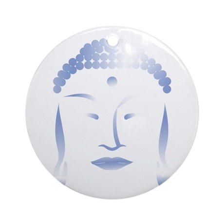 Buddha Head Ornament (Round)