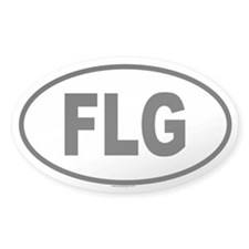 FLG Oval Decal