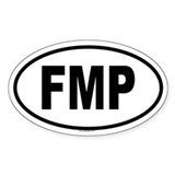 FMP Oval Decal