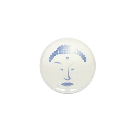 Buddha Head 2 Mini Button