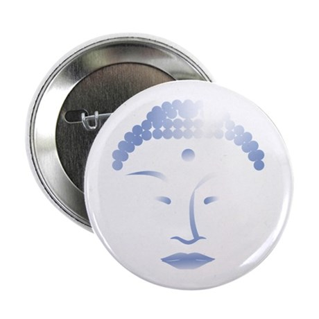 "Buddha Head 2 2.25"" Button (100 pack)"