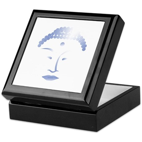 Buddha Head 2 Keepsake Box