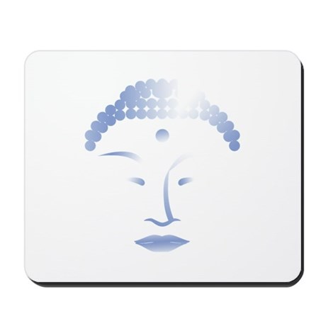 Buddha Head 2 Mousepad