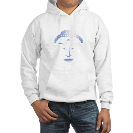 Buddha Head 2 Hooded Sweatshirt