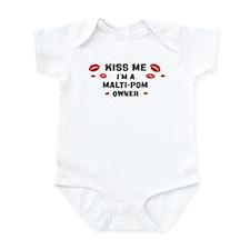 Kiss Me: Malti-Pom owner Infant Bodysuit