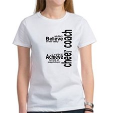 "Cheer Coach ""believe"" Tee"