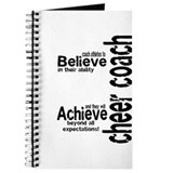 Cheer Coach &quot;believe&quot; Journal