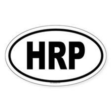 HRP Oval Decal