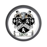 Lyons Coat of Arms Wall Clock