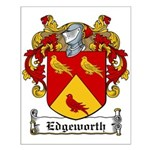 Edgeworth Family Crest Small Poster
