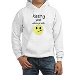 KISING YOUR SIDEWAYS SMILE Hooded Sweatshirt