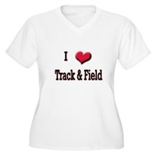 I Love (Heart) Track & Field T-Shirt