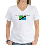 YES I HAVE BEEN TO TANZANIA Shirt