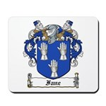 Fane Family Crest Mousepad