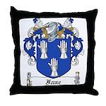 Fane Family Crest Throw Pillow