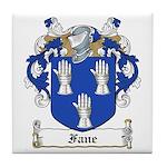 Fane Family Crest Tile Coaster