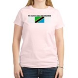 THE CUTEST GIRLS ARE TANZANIA T-Shirt