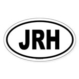 JRH Oval Decal