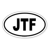 JTF Oval Decal