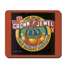 Crown Jewel Vintage Citrus Cr Mousepad