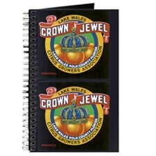 Crown Jewel Vintage Citrus Cr Journal