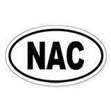 NAC Oval Decal