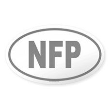 NFP Oval Decal