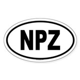 NPZ Oval Decal