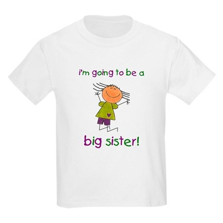 Big Sister Kids Light T-Shirt