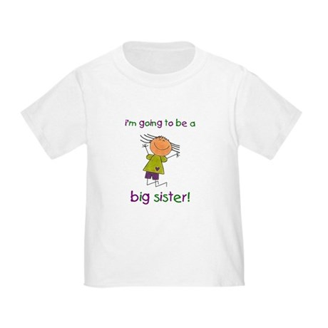Big Sister Toddler T-Shirt