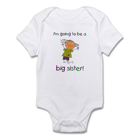 Big Sister Infant Bodysuit